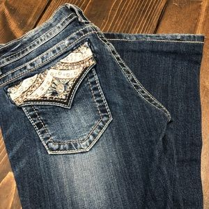 Miss me jeans boot cut 27